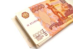 Stack of banknotes Royalty Free Stock Photos