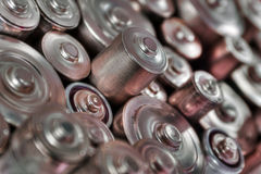 Stack of batteries Royalty Free Stock Image
