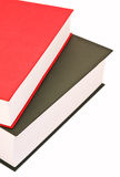 Stack of big books Royalty Free Stock Image