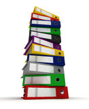 Stack of Binders Royalty Free Stock Photo