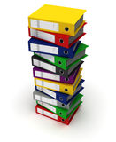 Stack of Binders Stock Images