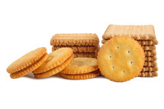 Stack of biscuit Stock Images