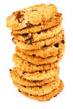 Stack of BIscuits Royalty Free Stock Photos