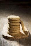 Stack of Biscuits. Stock Photos