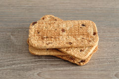 A stack of biscuits Stock Photos