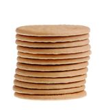 Stack of bisquits Stock Photos