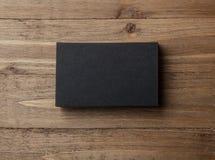 Closeup blank black business cards horizontal stock illustrations stack of blank black business cards on wooden background horizontal stack of blank black business colourmoves