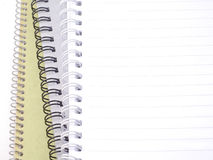 Stack of blank notebooks. Stack of three blank notebooks Royalty Free Stock Photo