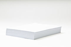 Stack of Blank Paper Royalty Free Stock Images