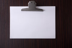 Stack of blank paper Stock Images