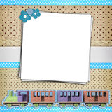 Stack of blank papers Royalty Free Stock Photos