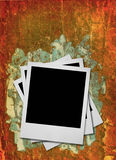 Stack of blank photo frames #2 stock image