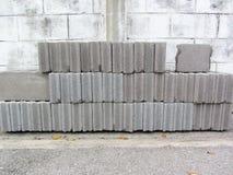 Stack of block brick Stock Photos
