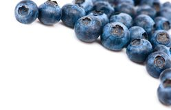 A stack of blueberries Stock Images