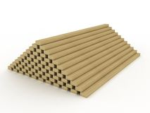 Stack of boards Stock Images