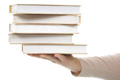 Stack book Stock Images