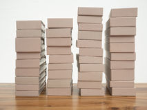 Stack of book covers Royalty Free Stock Image