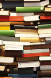 Stack of book wall Stock Photo