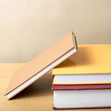Stack of book stock photo