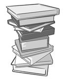 Stack of books. Stock Image