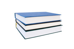 Stack of Books. Isolated On White Royalty Free Stock Images
