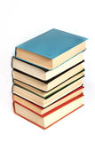 The stack of books. Closeup Stock Images