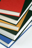 Stack of Books. Stack of various colored books for school/learning stock photography