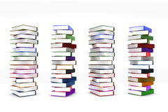 Stack books Stock Photos