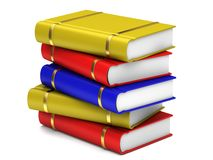 A stack of books Stock Photography