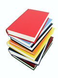 Stack of Books. Isolated Royalty Free Stock Image