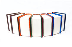 A stack of books Stock Image