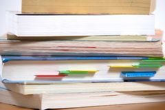 Stack of Books Stock Photography