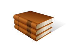 Stack of books. Vector illustration of book stack Stock Images