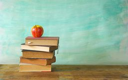 Stack of books Royalty Free Stock Images