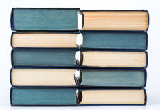 Stack of books for background. Stack of books close up for background Royalty Free Stock Image