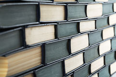 Stack of books for background. Stack of books close up for background Royalty Free Stock Photography