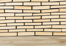 Stack of books for background Royalty Free Stock Photos