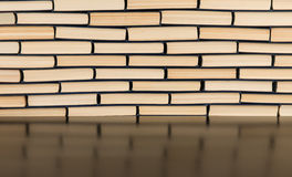 Stack of books for background. Stack of books closeup for background Royalty Free Stock Image