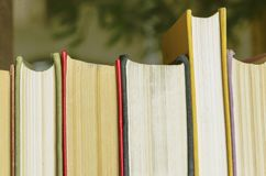 Stack of books. Background. many books piles royalty free stock photos
