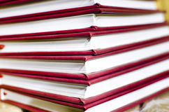 Stack of books background Stock Image