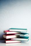 Stack of books in balance Royalty Free Stock Photography
