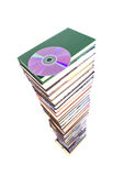 Stack of books is a CD Stock Images