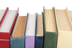 Stack of books close-up Royalty Free Stock Photos