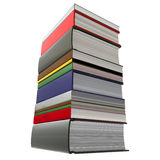 Stack of books, close-up Royalty Free Stock Photos