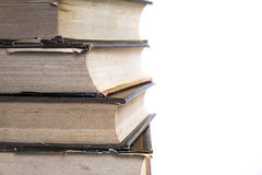 Stack of books close-up Royalty Free Stock Photography