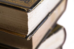 Stack of books close-up Stock Image