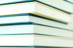 Stack of books closeup. Photo of stack of books, closeup Royalty Free Stock Images
