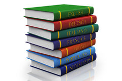 A stack of books. Royalty Free Stock Image