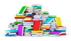 Stack of books stock illustration
