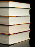 Stack from books Royalty Free Stock Image
